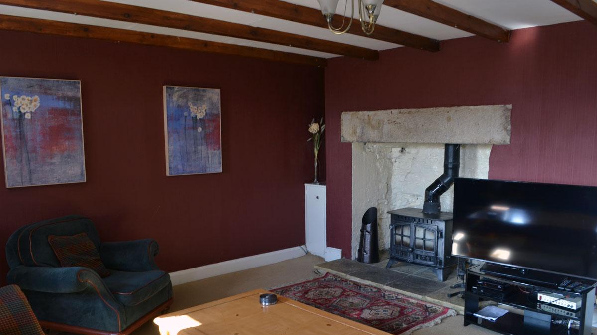 Oak livingroom