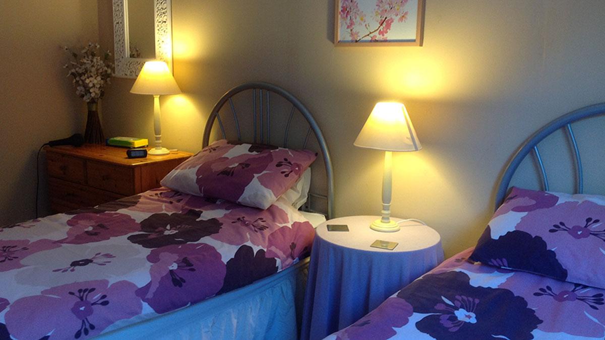 Rowan twin bedroom